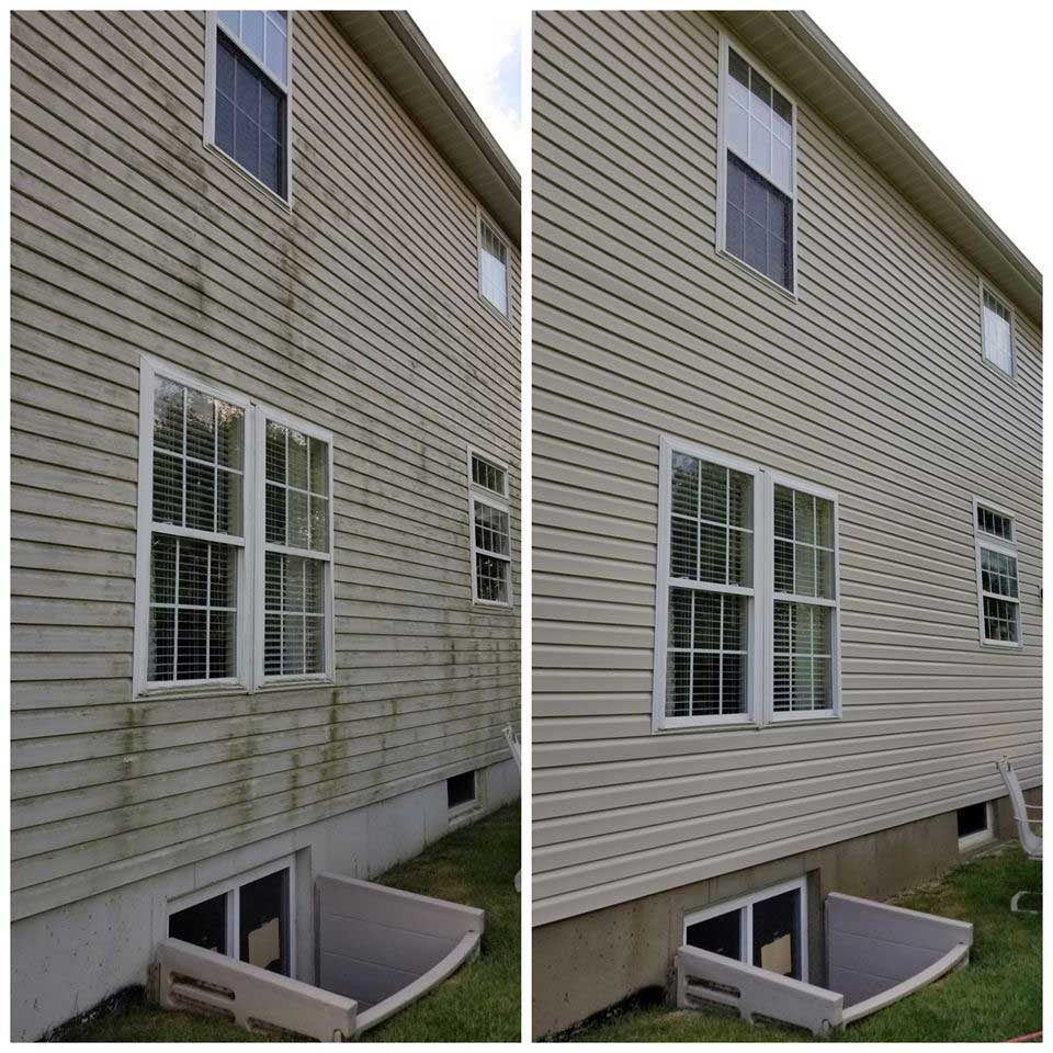 House Soft Wash / Window Cleaning
